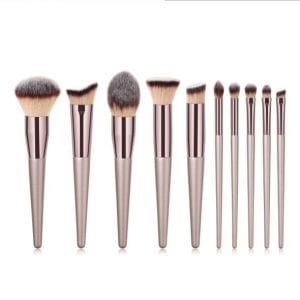 Glowii Champagne Colour Makeup Brush