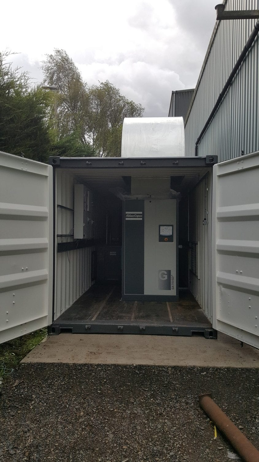 Containerised Compressed Air System