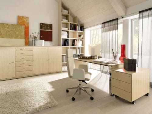 Hand crafted home office furniture