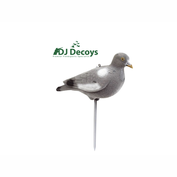 Flocked full bodied wood pigeon decoys