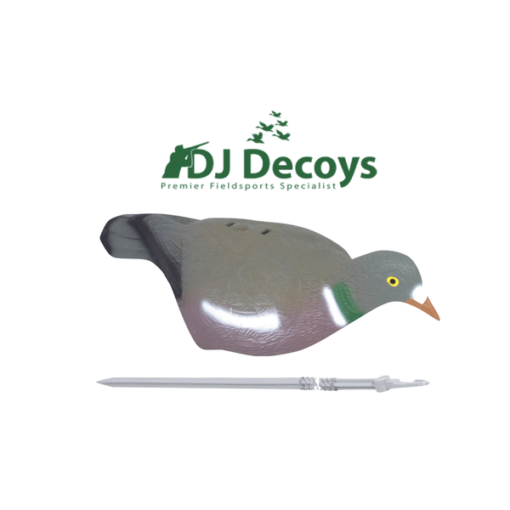 High definition wood pigeon shells decoys pack 10 / 6