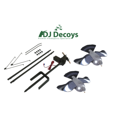 Pigeon Magnet + Pair Flying Pigeon Decoys
