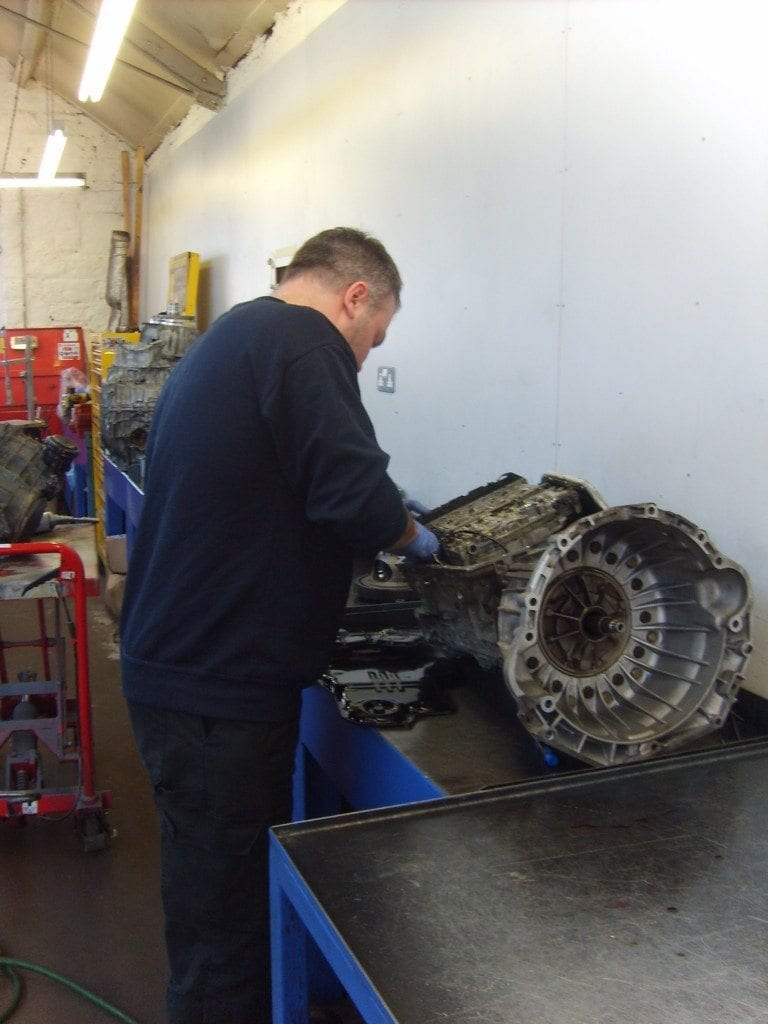 Automatic Gearbox Faults Repaired